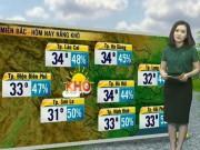 Dự báo thời tiết VTV 28.5: Bắc Bộ nắng khô, Nam Bộ mưa lớn