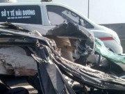 Tin tức trong ngày - Tin mới vụ Mercedes đâm xe tải trên cao tốc Hà Nội-Hải Phòng
