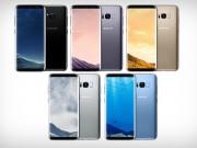 Thời trang Hi-tech - Samsung tung thêm 3 màu mới cho Galaxy S8 và S8+