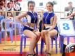 """""""Mưa knock-out"""" hút fan nữ xinh tại giải Muay Việt"""