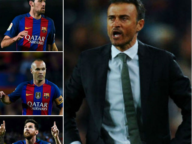 Sốc ở Barca: Enrique tố bị Messi và 4 sao