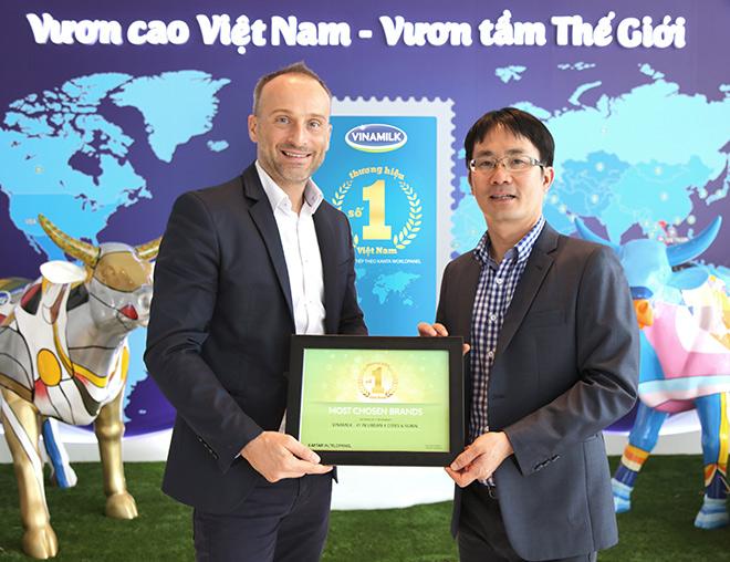 Vinamilk lọt Top những thương hiệu được lựa chọn nhiều nhất ở VN - 1