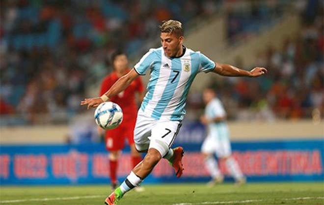 U20 Argentina bị loại, sao trẻ đấm nhân viên khách sạn - 1
