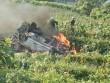 Ô tô 7 chỗ lao xuống vực bốc cháy ngùn ngụt ở Lào Cai