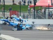 Tai nạn đua xe thảm khốc: Người còn nguyên, xe tan nát