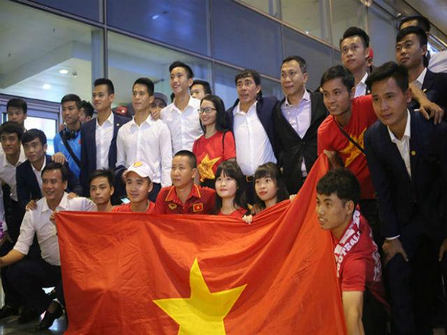 U20 Việt Nam về nước: 3 trận - 1 điểm ở World Cup, vẫn tự hào