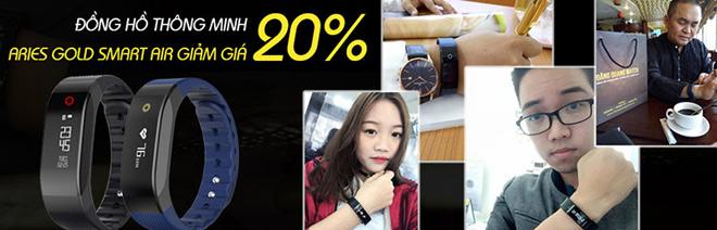 Giảm giá đặc biệt 20% đồng hồ Aries Gold SmartAir - 2