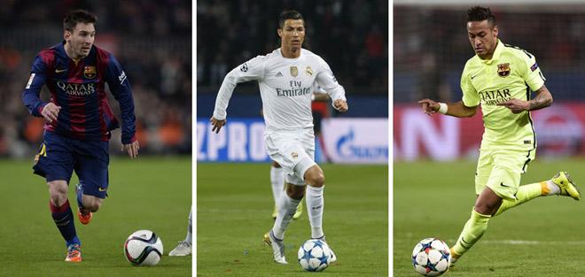 """Cầu thủ hay nhất Liga: Neymar trên Messi, Ronaldo """"mất hút"""" - 1"""