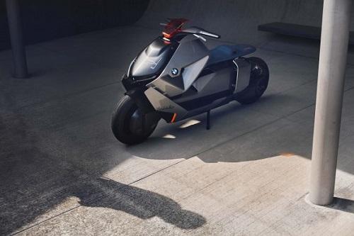 BMW Motorrad Concept Link: Xe tay ga đến từ tương lai - 4