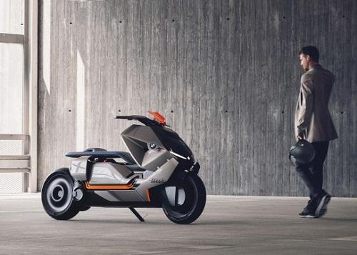 BMW Motorrad Concept Link: Xe tay ga đến từ tương lai - 2