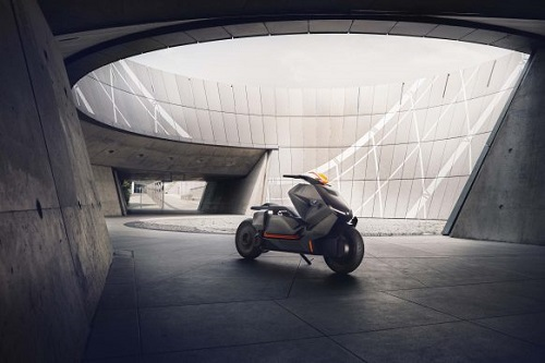 BMW Motorrad Concept Link: Xe tay ga đến từ tương lai - 5