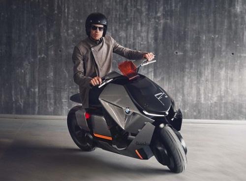 BMW Motorrad Concept Link: Xe tay ga đến từ tương lai - 1