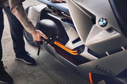 BMW Motorrad Concept Link: Xe tay ga đến từ tương lai - 3