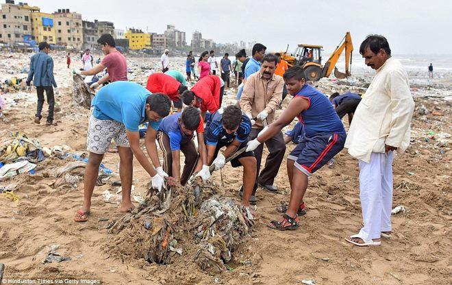Bãi biển kinh khủng nhất thế giới, chứa tới 5.000 tấn rác - 3