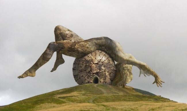 Những cột đá có hình thù kỳ dị giữa thung lũng tình yêu ở Ireland - 5