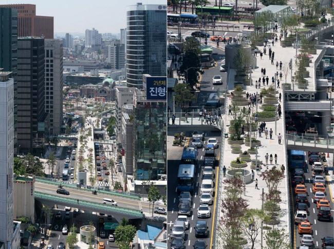 Cầu vượt bỏ không hóa khu vườn trên cao đẹp lạ ở Hàn Quốc - 2