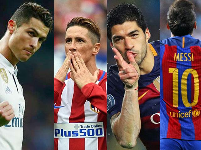 10 siêu phẩm đẹp nhất La liga 2016/17: Ronaldo đọ tài Messi