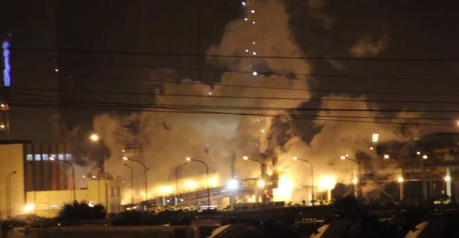 Nổ lớn ở KCN Formosa, nhiều công nhân hoảng sợ - 1