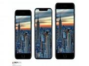 Dế sắp ra lò - Lộ thông tin kích thước iPhone 8