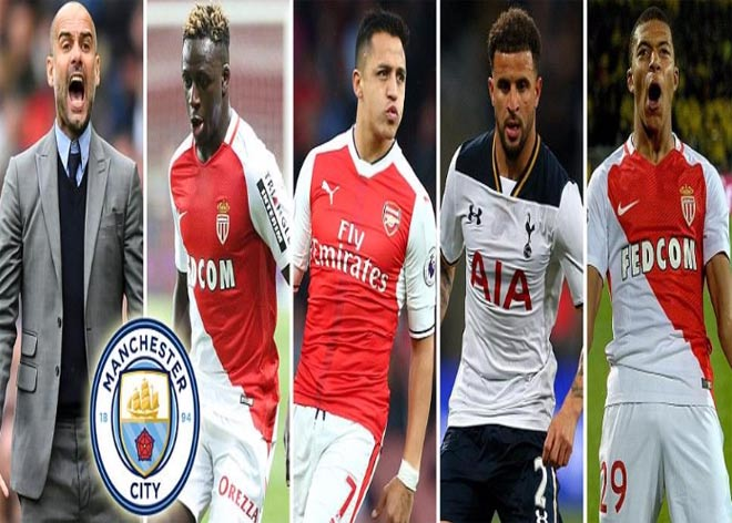 Man City - Pep: 250 triệu bảng săn 5 sao xây Dream Team - 1
