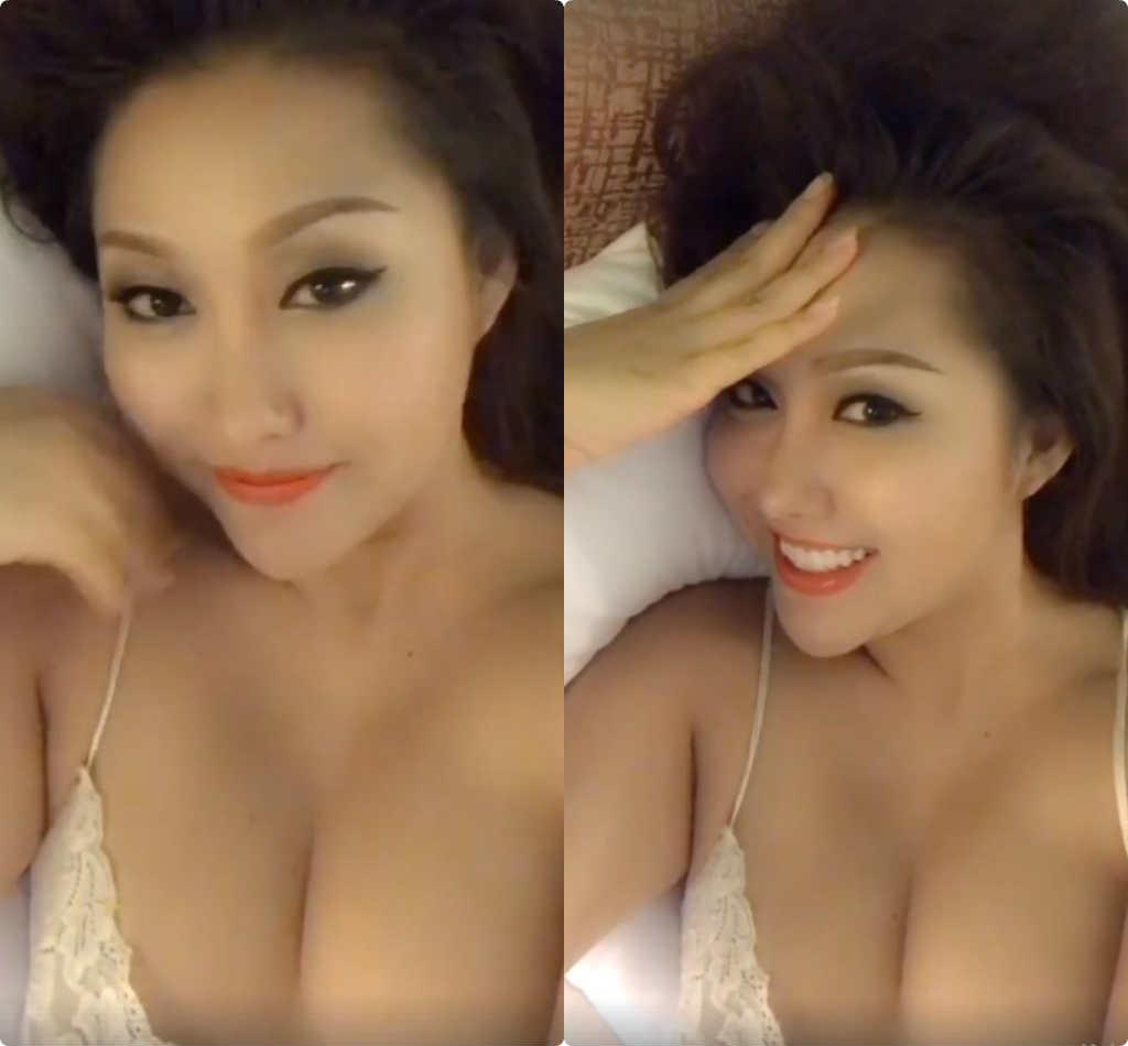 """Clip Phi Thanh Vân tạo dáng trên giường """"đốt cháy"""" mọi ánh nhìn - 1"""