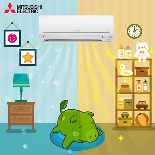 Điều hòa giúp không khí thoáng mát trong mùa mưa - 4