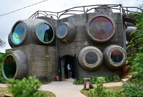 """Clip: """"Ngôi nhà bí ẩn"""" 132 mái hút hồn du khách ở Đà Lạt - 2"""