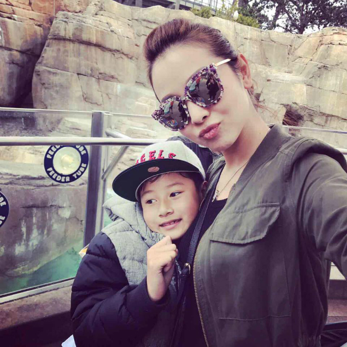 Quá lâu mới thấy Thùy Lâm xuất hiện cùng con cái xinh như hồi son rỗi - 9