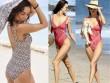 """Kiều nữ triệu USD mặc áo tắm """"tấn công"""" bờ biển đầy nắng"""
