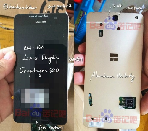Microsoft Lumia 960 chưa từng được công bố lộ ảnh - 1
