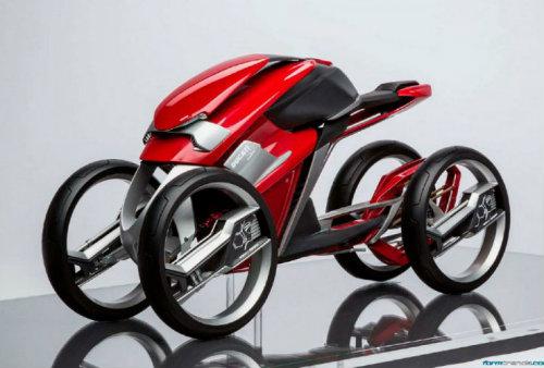 Ducati đang phát triển môtô 4 bánh độc lạ? - 2