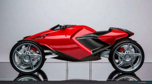 Ducati đang phát triển môtô 4 bánh độc lạ? - 6