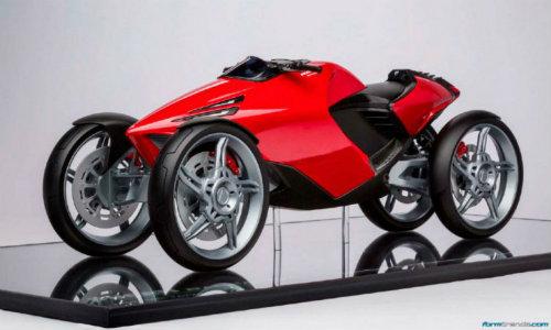 Ducati đang phát triển môtô 4 bánh độc lạ? - 7