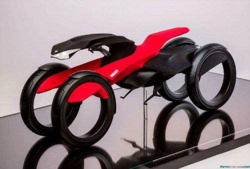 Ducati đang phát triển môtô 4 bánh độc lạ? - 5