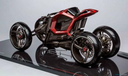 Ducati đang phát triển môtô 4 bánh độc lạ? - 8