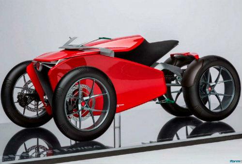 Ducati đang phát triển môtô 4 bánh độc lạ? - 4