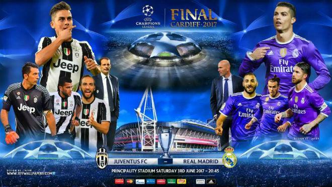 """Chung kết cúp C1 Real - Juventus: Liên hoàn kế """"phá bê tông"""" - 1"""
