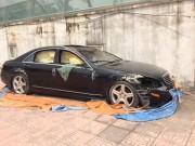 Tư vấn - Xót xa Mercedes-Benz S550 bị bỏ hoang ở Hà Nội