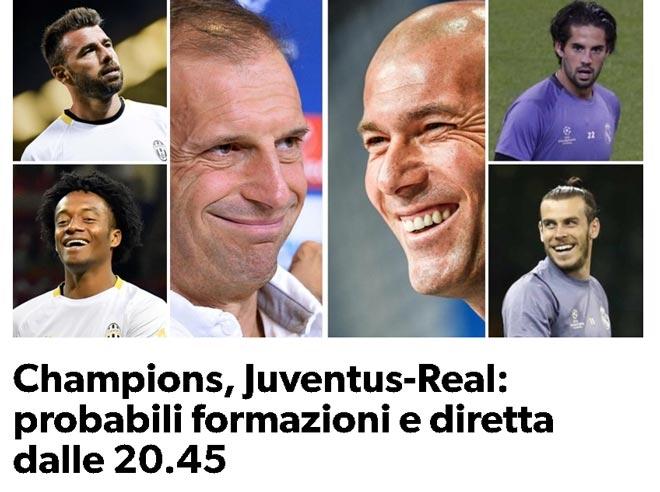 Chung kết cúp C1 Real - Juventus: Real ghi bàn, nhưng Juventus vẫn sẽ thắng - 1