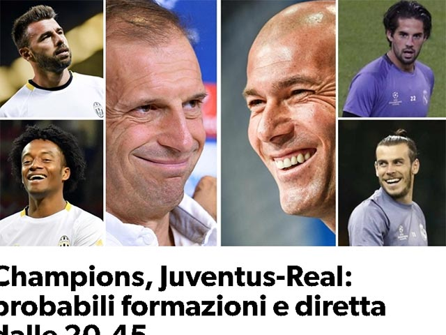 Chung kết cúp C1 Real - Juventus: Real ghi bàn, nhưng Juventus vẫn sẽ thắng