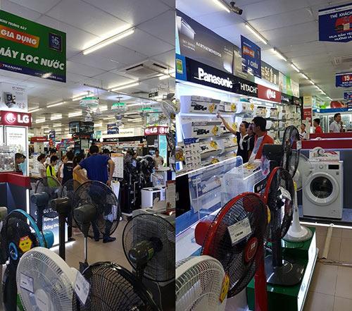 Nắng nóng 40 độ C, người dân đổ xô đến Trần Anh mua đồ… giảm nhiệt - 3