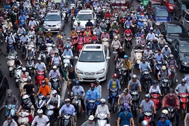 Dự kiến cấm xe máy ở nội thành Hà Nội từ năm 2030 - 1