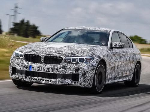 BMW M5 thế hệ mới lộ diện với nhiều cải tiến - 1