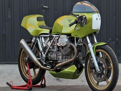 "Moto Guzzi Le Mans II Racer 1981 phong cách ""cổ điển"" - 1"