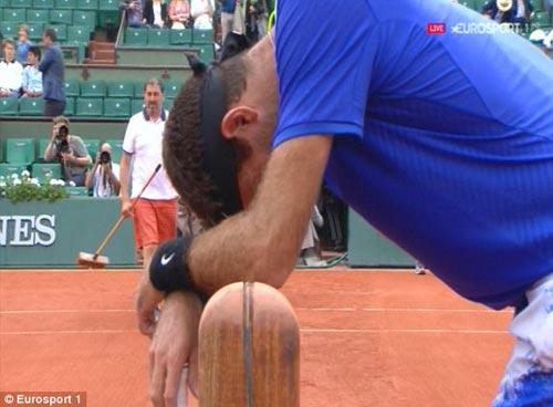 Chi tiết tennis Murray - Del Potro: Thua trắng ở set 3 (KT) - 4