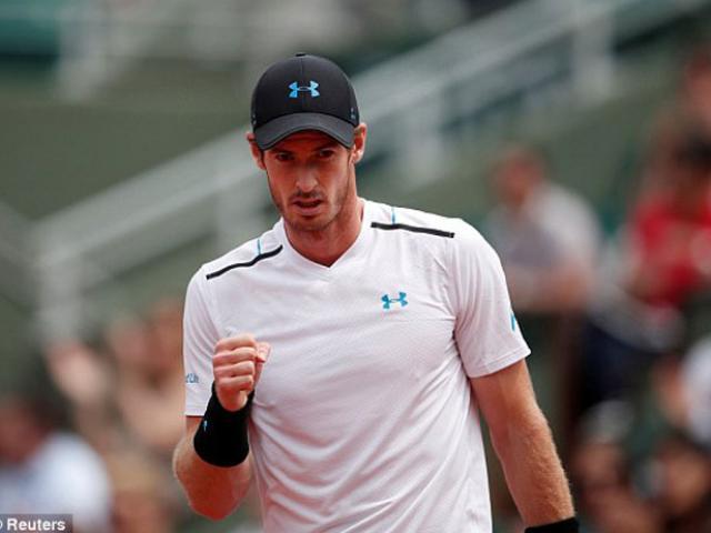 Murray – Del Potro: Bùng cháy rồi sụp đổ (Vòng 3 Roland Garros)