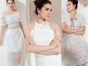 Thời trang - Sau bikini, Phạm Hương chào hè bằng loạt váy nhìn thấu