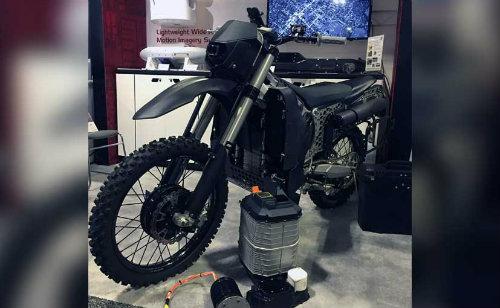 Mỹ phát triển môtô tàng hình mới chạy nhiên liệu phản lực - 2