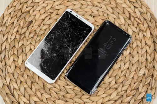 Video thả rơi Galaxy S8 và LG G6: ai cứng hơn? - 1
