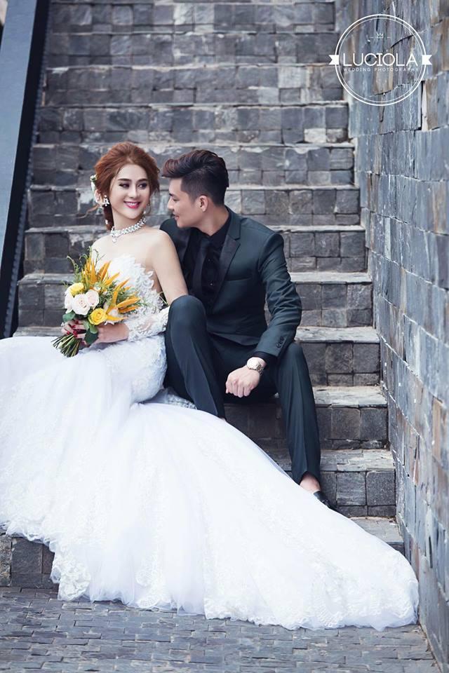 Hé lộ bộ ảnh cưới đẹp lung linh của Lâm Khánh Chi - 2